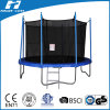 TUV Approved Trampoline with Safety Pad & Enclosure Net & Ladder