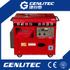 Single Phase 100% Copper Wire 5kVA Diesel Generator with 30L Fuel Tank