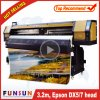 Best Price Funsunjet Fs-3202g 3.2m/10FT Eco Solvent Flex Printer with Two Heads 1440dpi