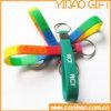 Custom Silconne Wristband Keychain/Keyring/Keyholder Jewelry Gift (YB-HD-04)