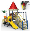 Kids Outdoor Playground Small Slides Combined with Swing