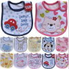Super Soft 100% Cotton Printed Baby Bibs