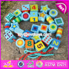 New Design Toddlers Educational Wooden Lacing Toys W11e065
