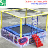 1 Person Rectangular Trampoline for Sale (BJ-BU13)