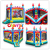 Inside Slide Combo/Kids Inflatable Bouncer Slide Bb078