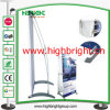L Design Collapsible Advertising Outdoor Banner Display Stand