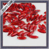 Red Color Marquise Shape Glass