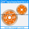 Turbo Cutting Segmented Saw Blade for Concrete and Brick