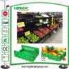 New PP Supermarket Fruit and Vegetable Display Rack