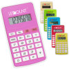 8 Digits Dual Power Pocket Calculator with Various Optional Colors (LC330)