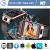New Smart IP67 Bluetooth 4.0 3G Call Sync. Watch Phone with 2.0MP Camera (W2)