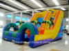 Inflatable Obstacle Slide Game