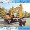 Excavating Machine Bucket Hydraulic Wheel Excavator with Assisitive Instrument