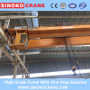 Workshop Applied Double Girder Overhead Crane with Electric Hoist Lifting Machinery