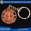 2016 New Design Zinc Alloy Metal Type with Ring Keychain