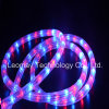 220V High Brightness Ce RoHS Approved Flat 3 Wire RGB LED Rope Light