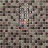 Rose Brozen Color Aluminium Mix Crystal Mosaic (CFA70)