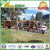 Air Suspension BPW Axles Log Transport Wood Trailer