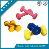 Hex Colorful Vinyl Coating Cast Iron Dumbbells