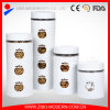 Wholesale Cheap Custom Made Glass Candy Storage Jars with Lid