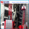Construction Hoist with Cages for Sale by Hstowercrane