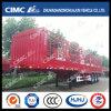 Cimc Huajun 3axle 3-Group-Stake Cargo Semi Trailer