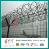 PVC Coated Galvanized Airport Fencing /Barbed Wire Airport Safety Fence