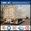 Hot Sale 2-Group-Stake Cargo Semi-Trailer with Roof Rail&Rear Door