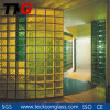 Clear / Colored Glass Brick with Ce and SGS