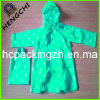 100% Waterproof Children PVC Raincoat&Rain Coat with a Bag