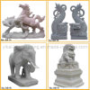 Chinese Hand-Carved Natural Stone Animal Statue (YKAS-05)