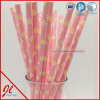 Paper Red Wide Drinking Straws Party Products