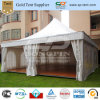 10m Pagoda Tents with Solid Wall and Glass Door