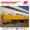 4mm Checkered Plate Stake Semi Trailer for Sale