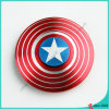 2017 Hot Selling Captain America Finger Spinner Desk Fidget Spinner Toy