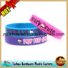 Logo Printing Silicone Wristband with Th-06