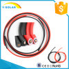 Mc4X6mm2 33-57A Solar PV Cable Class 5 Tinned Copper Wire Black&Red