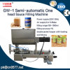 Semi-Automatic One Head Sauce Filling Machine (GW-1)