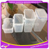 Plastic Square Microwave High Polish Transparent Seal Container Mold
