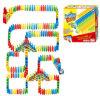 Kids Manual Arch Bridge of Dominoes Set