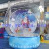 Chiristmas Inflatable Snow Ball/Christmas Inflatable Cartoon Santa Claus