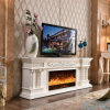 TV Stand European Carving Heating Fireplace Hotel Furniture (320SS)