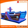 Blue Pirate Ship Inflatable Products Toy Inflatable Bouncer (T6-601)