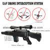 Security Defense Gun Shape Jammer Uav Drone Jammer