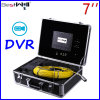 Waterproof 23mm Video Pipe Inspection Camera Cr110-7D with 7′′ Digital LCD Screen DVR Video Recording with 20m to 100m Fiberglass Cable