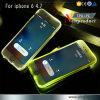 PC TPU Bright Flash Phone Case for iPhone 6