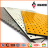 Silver, White, Yellow 3mm Punching Aluminium Perforated Panel with Polyester Coating (AE-38B, AE-31D, AE-32D)