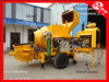 Save Cost Concrete Pump with Mixer for Sale