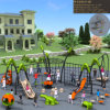 Kaiqi Medium Sized High Quality Climbing System Set for Children′s Adventure Playground (KQ50113B)