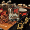 Wholesale 30ml 50ml Elegant Square Glass Diffuser Bottle